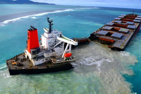 Mauritius Oil Spill Tragedy: How and Why the MV Wakashio